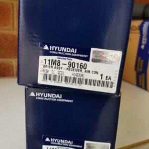 Hyundai 11M8-90160 Drier Assy Receiver Air Con R55-7A Excavator-Heavy-Duty-Parts-Australia-Perth