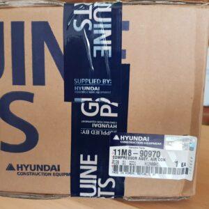 Hyundai 11M8-90970 Compressor Assy R55-7A Excavator Heavy-Duty-Parts-Australia-Perth