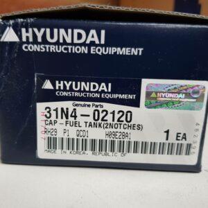 Hyundai-Cap-Fuel-Tank-31N4-02120-Loader-Excavator-Heavy-Duty-Parts-Australia-Perth