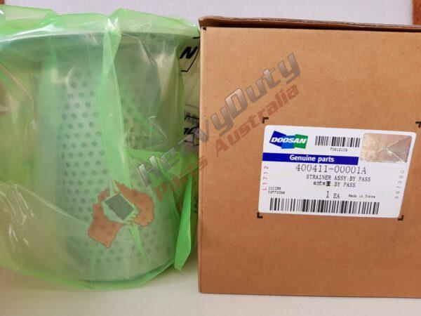 Doosan 400411-00001A1 Strainer Assy Bypass
