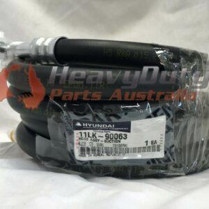 Hyundai 11LK-90063 Hose Assy Suction HL770-9 Loader Heavy Duty Parts Australia