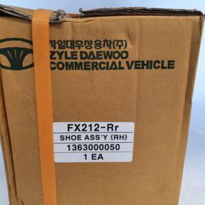 Daewoo Bus Shoe Assy (RH) 1363000050 | Heavy Duty Parts